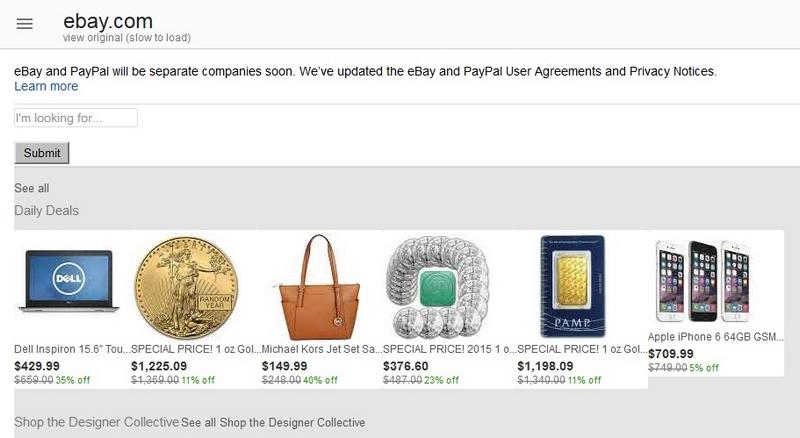 ebay google optimized