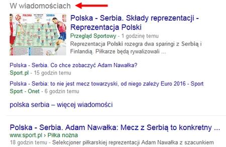 google news - w wiadomościach