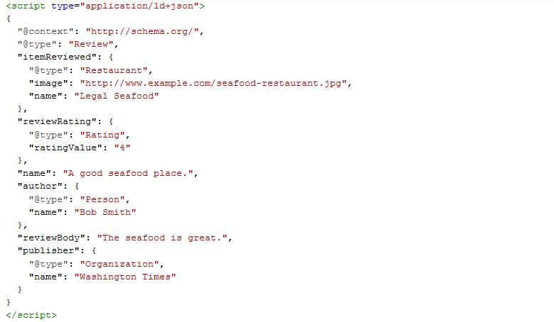 JSON-LD - przykład