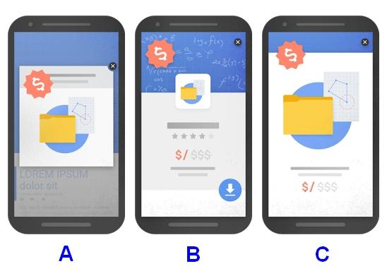 Okienka mobile nieprzyjazne Google