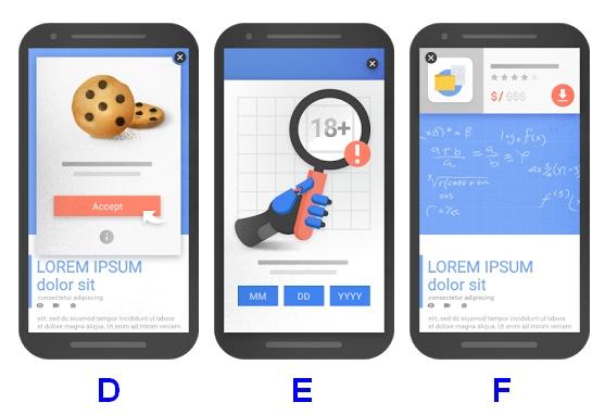 Okienka mobile przyjazne Google