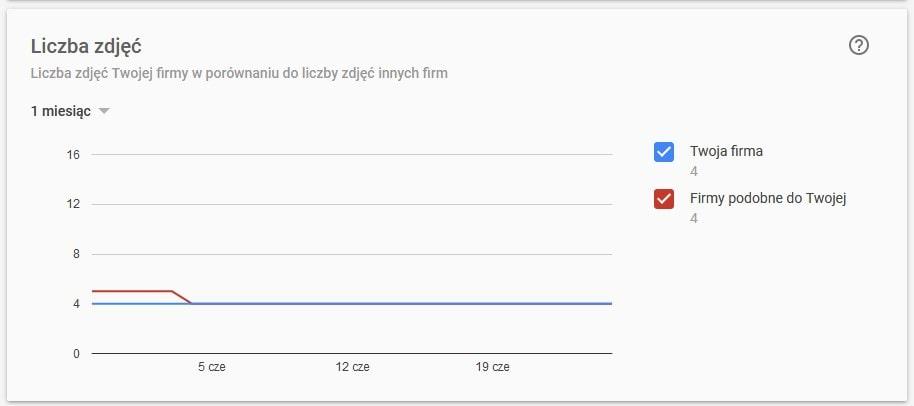 Google Moja Firma: statystyki