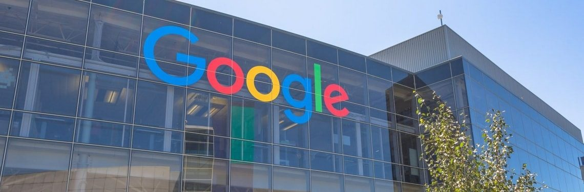 Budynek Google logo