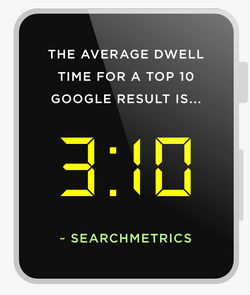 Dwell time w top 10 Google