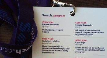 Search Conference - program