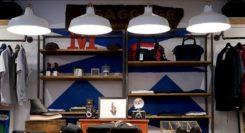 zakupy ubrań w sklepie
